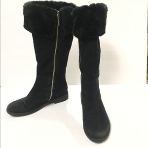 Taryn Rose Avis Faux Fur Cuff Boot